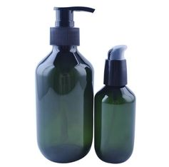 Separate Packaging Plastic Shampoo Bottles Silk Screen Printing Surface