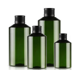 Sloppe Shoulder Plastic Shampoo Bottles Refillable Shampoo Bottles For Shower