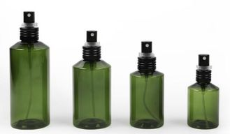 Green PET Cosmetic Spray Bottle Body Lotion Packaging For Personal Skin Care