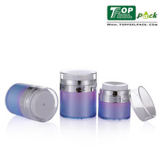 China 50g Acrylic Cosmetic Cream Containers Transparent Durable Not Fragile Material supplier