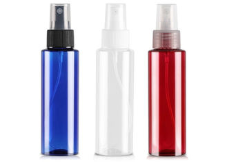 Colorful Plastic Flat Shoulder Pet Travel Size Spray Bottle With Fine Mist Sprayer