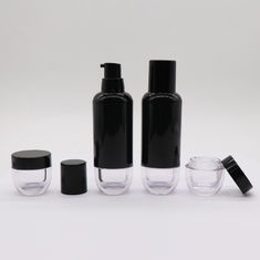 Cosmetic Essential Round PP 30ml Airless Pump Bottle